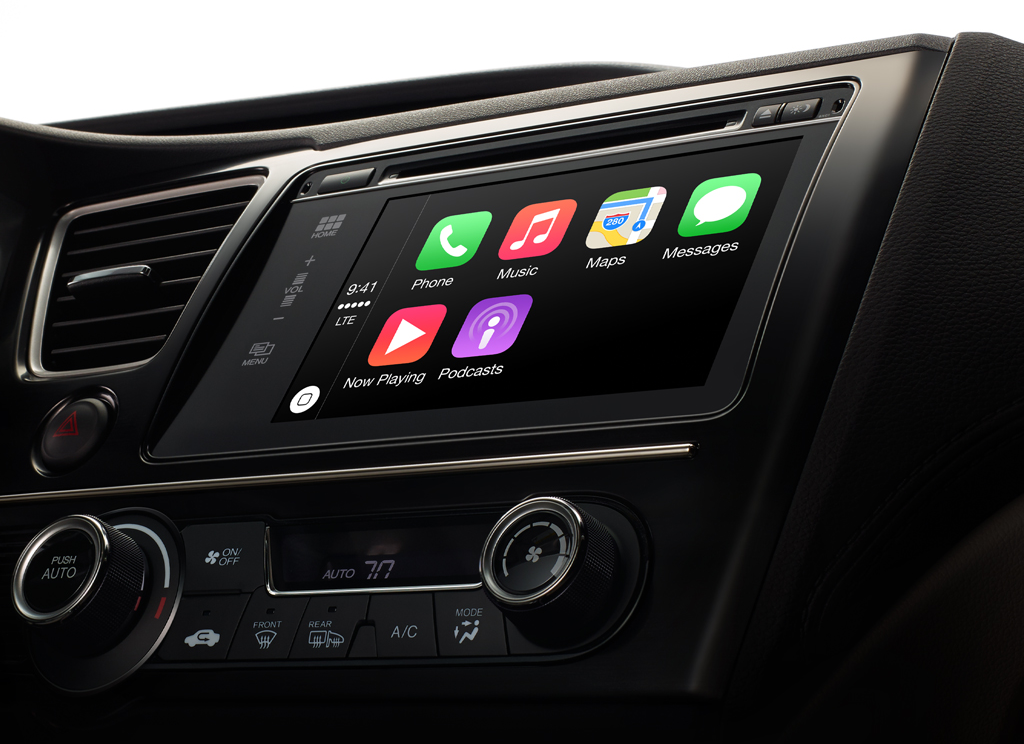 which nissan models will have apple carplay