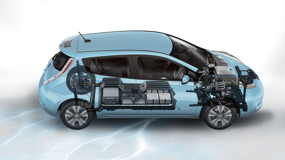 2015 Nissan Leaf battery Raleigh