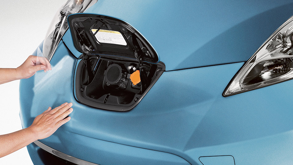 2015 Nissan Leaf charging port Raleigh