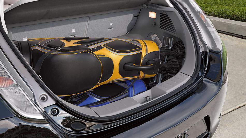 2015 Nissan Leaf trunk Raleigh