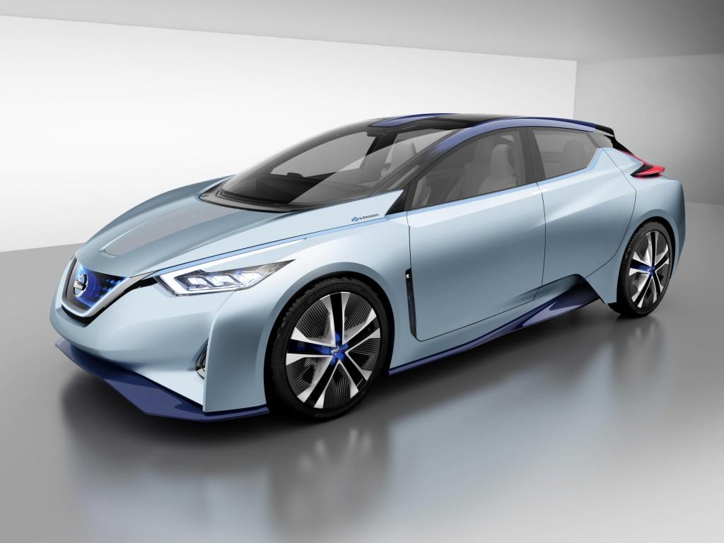 Nissan IDS Concept autonomous electric vehicle